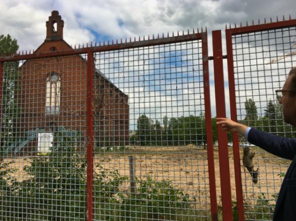Die Kapelle auf dem Gebiet Ulmer Höh
